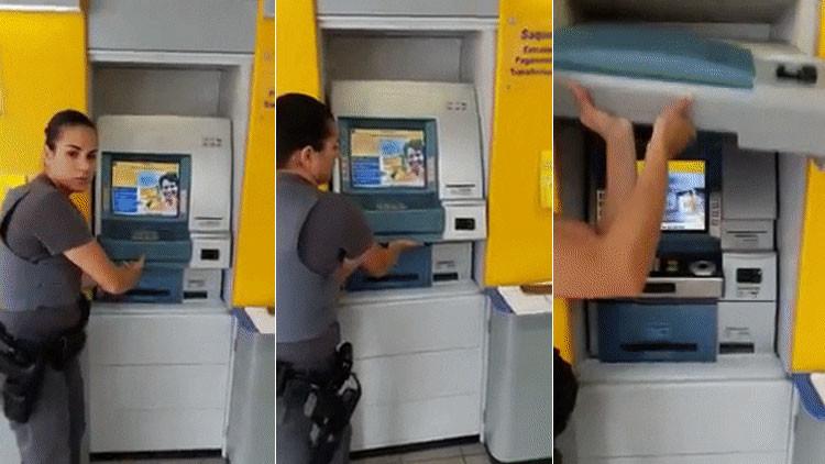 Video: 'Hackers' brasileños inventan una extraordinaria manera de robar en cajeros automáticos