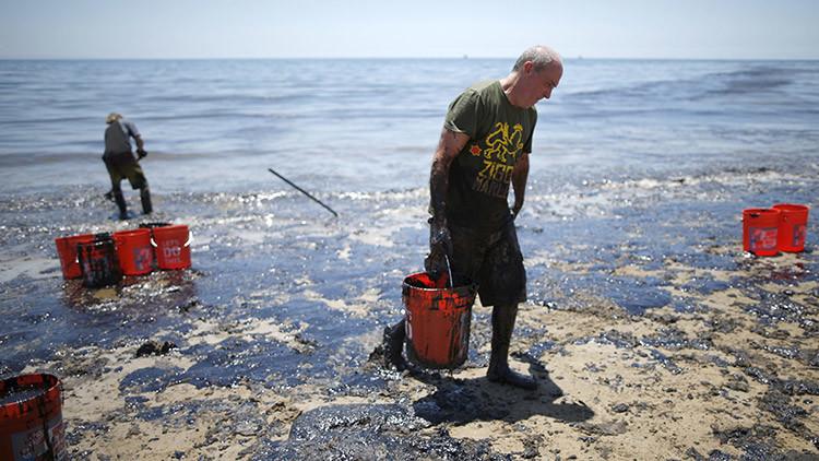 """Los derrames """"invisibles"""" de petróleo que pueden acabar con el Golfo de México"""