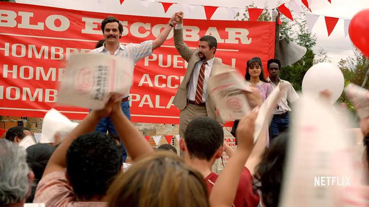 Conflicto diplomático entre Colombia y España por un cartel de Pablo Escobar