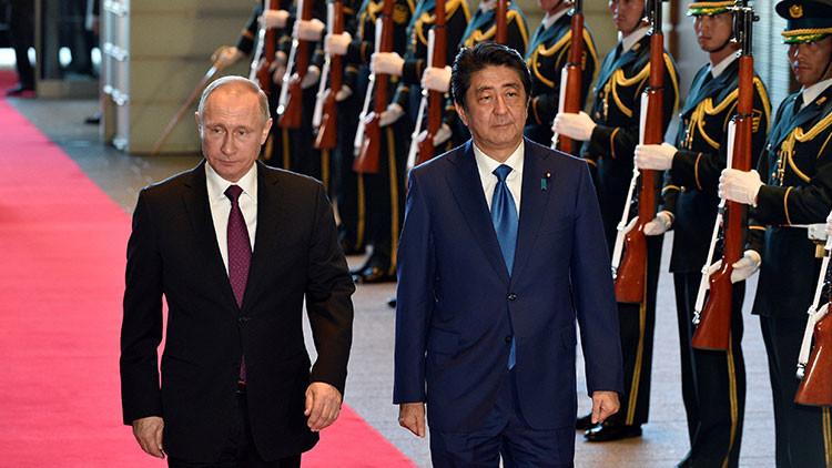 Putin revela los detalles de su encuentro con el primer ministro de Japón