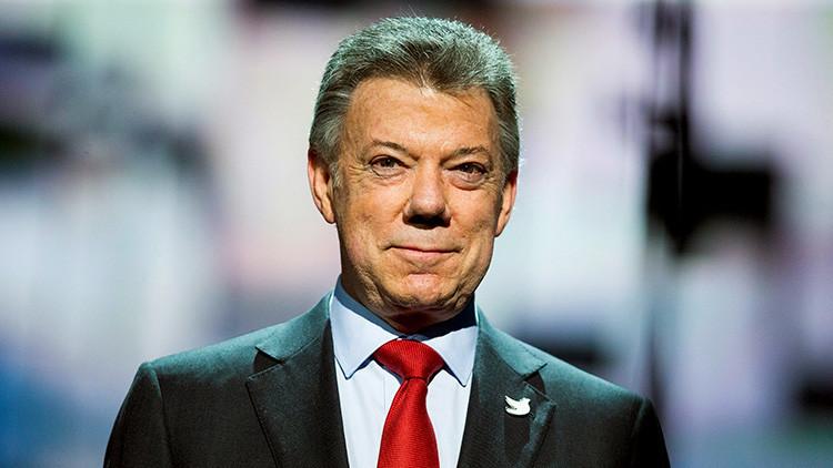 """Vengan a """"conquistar medio país"""": la propuesta de Santos a los empresarios italianos"""