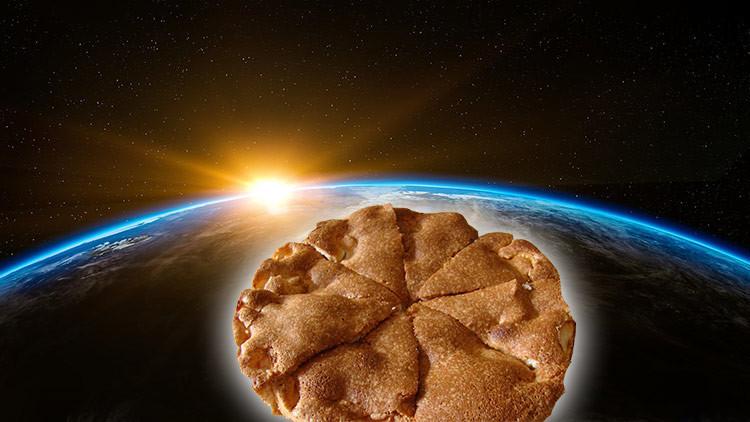 VIDEO: Lanzan al espacio un pastel de carne y patatas para que se cocine en la reentrada