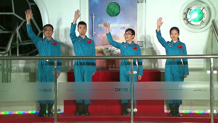 180 días 'amurallados' frente al exterior: China concluye un experimento de supervivencia espacial