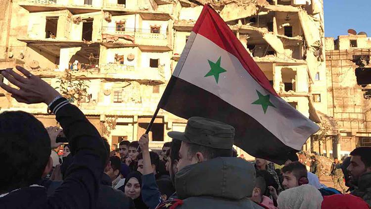 El Ejército sirio retoma el control de Alepo