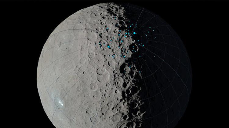 ¿Planeta alienígena? Descubren zonas del planeta enano Ceres que pueden albergar vida