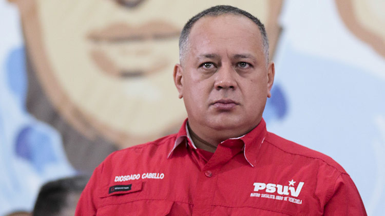 """Diosdado Cabello: """"El embajador de Argentina en Venezuela debería recoger sus maletas"""""""