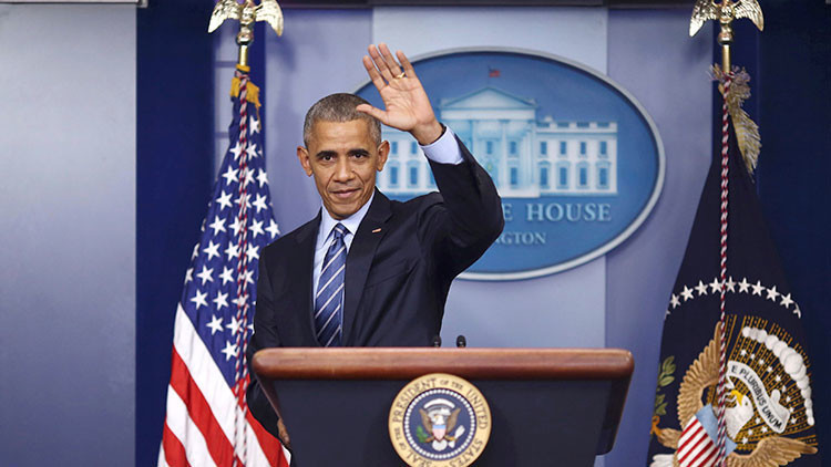 """Obama: """"Rusia es un país más pequeño y débil que EE.UU."""""""