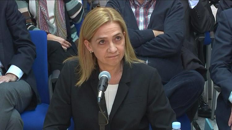"""Infanta Cristina sobre su juicio: """"Qué ganas tengo de que acabe esto para no pisar este país"""""""