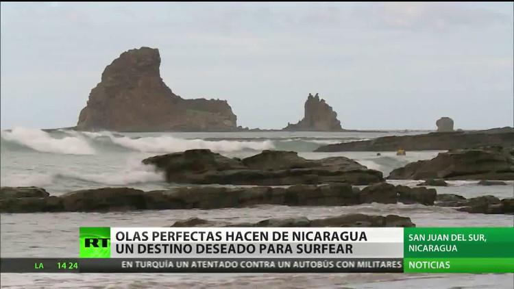 Sus perfectas olas hacen de Nicaragua un destino deseado para surfear