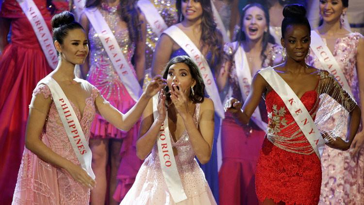 Miss Puerto Rico se corona como nueva Miss Mundo