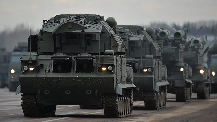 Entran en funcionamiento los modernos sistemas antiaéreos 'Buk-M2' en el sur de Rusia