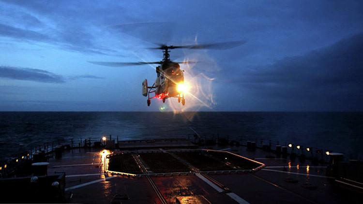 La Armada rusa recibe el primer helicóptero Ka-27M, capaz de detectar cualquier submarino