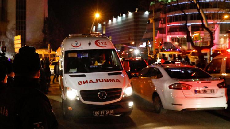 Reportan varios disparos cerca de la embajada de EE.UU. en Ankara