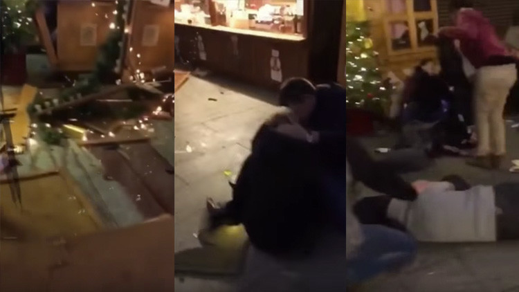FUERTE VIDEO: Primeras imágenes tras el ataque en Berlín que dejó al menos 12 muertos