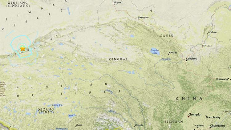 Terremoto de magnitud 5,6 sacude el oeste de China