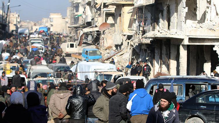 """Moscú: """"Rusia, Turquía e Irán serán garantes en la resolución de la crisis en Siria"""""""
