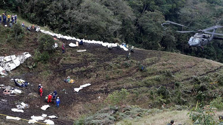 Confirmado: La causa de la tragedia del avión de Chapecoense fue un error humano