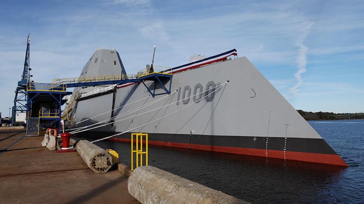 """""""Desastre absoluto"""": problemas de sobrecoste y rendimiento en el destructor USS Zumwalt"""