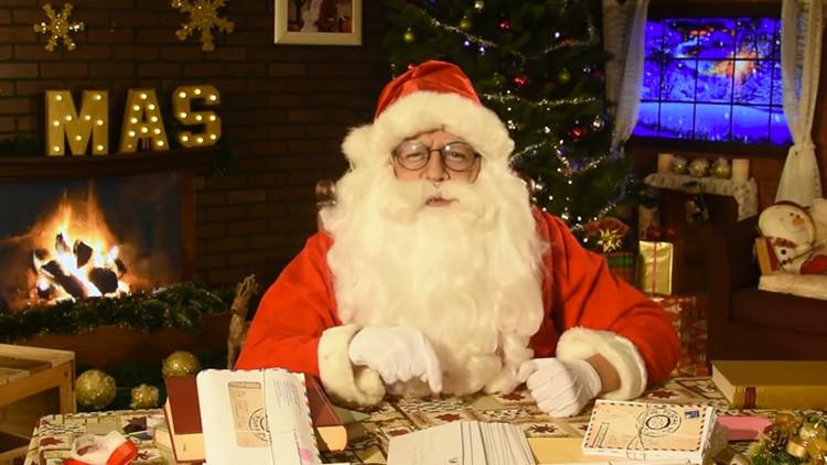 """""""Los niños piden que ya no maten gente"""", mensaje de 'Santa Claus' a Peña Nieto (Video)"""