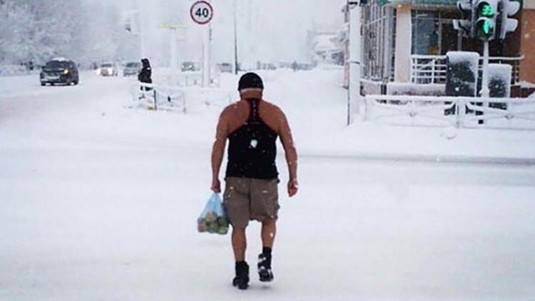 Condiciones extremas: un frío de hasta -62 ºC azota varias regiones de Rusia