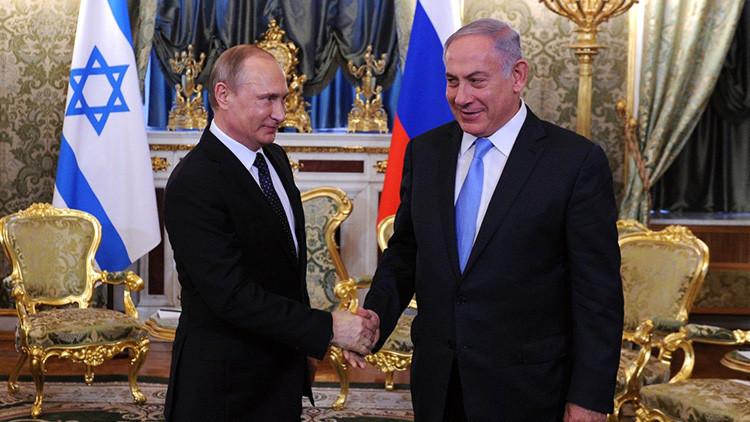 Putin y Netanyahu discuten la cooperación en la lucha contra el terrorismo