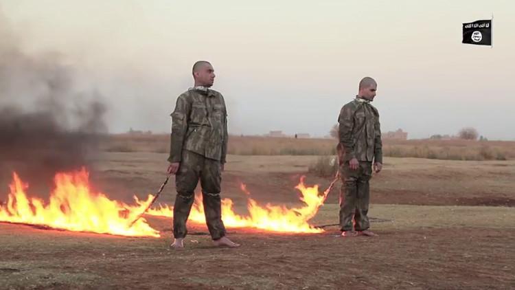 El Estado Islámico quema vivos a soldados turcos en Alepo