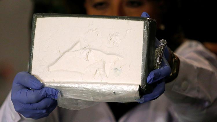 La imagen de una virgen sirvió para camuflar el envío de 720 gramos de cocaína