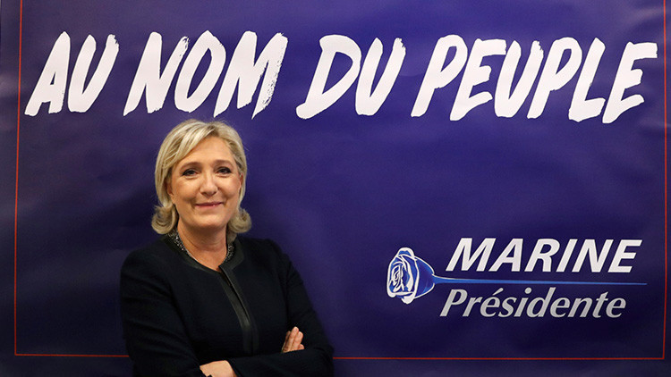 Marine Le Pen promete un 'Frexit' si es presidenta
