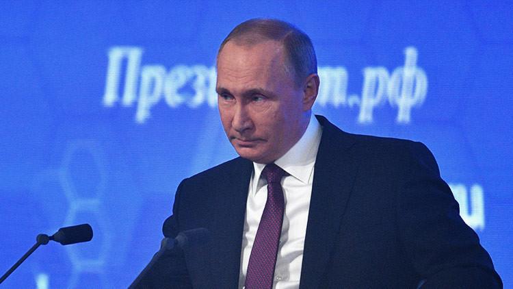 Putin revela el estado actual de la economía rusa