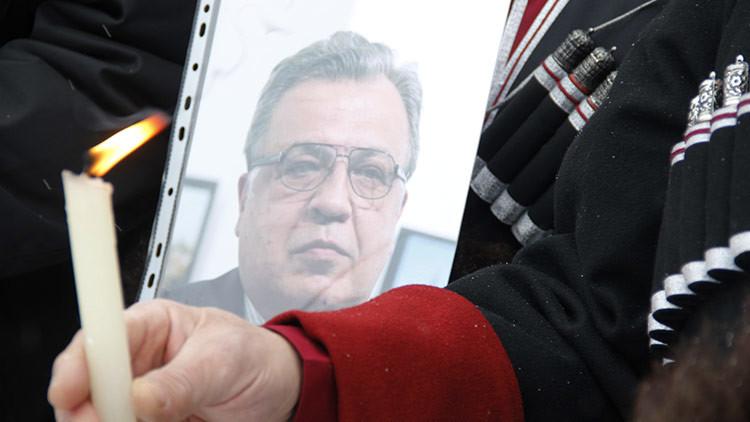 """Putin: """"El asesinato del embajador ruso es un ataque contra Rusia y las relaciones ruso-turcas"""""""