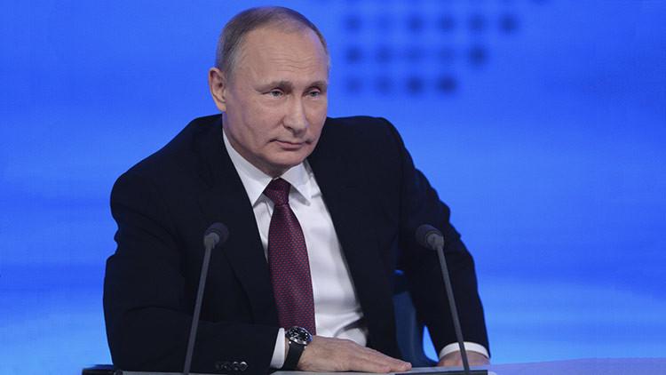 VIDEO: Putin ofrece su gran rueda de prensa anual