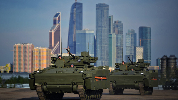 """Moscú: """"Rusia nunca iniciará una carrera armamentística"""""""