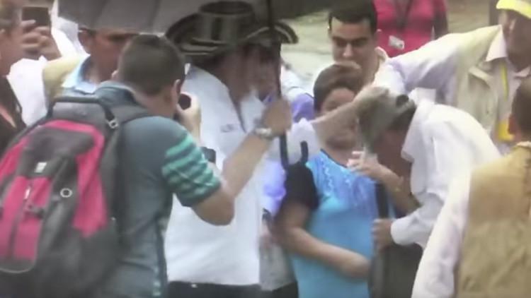 Vicepresidente colombiano pide disculpas públicas a escolta agredido (Video)