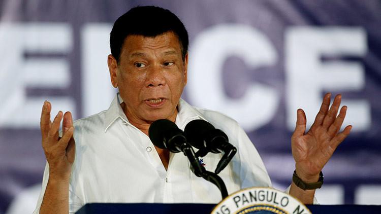 El presidente de Filipinas afirma que la mayoría de los estadounidenses son idiotas