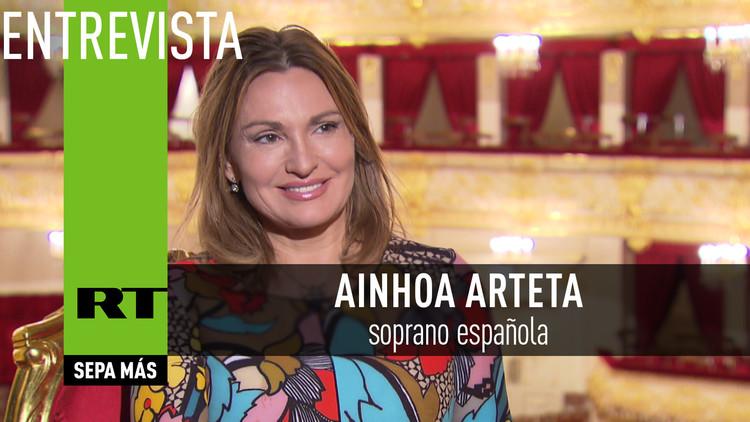 Entrevista con Ainhoa Arteta, soprano española