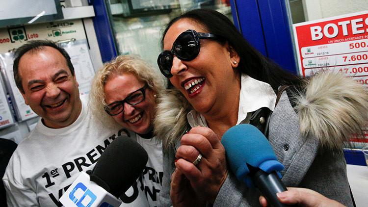 La Lotería deja 58 millones de dólares en una pequeña ciudad de España con alto nivel de paro