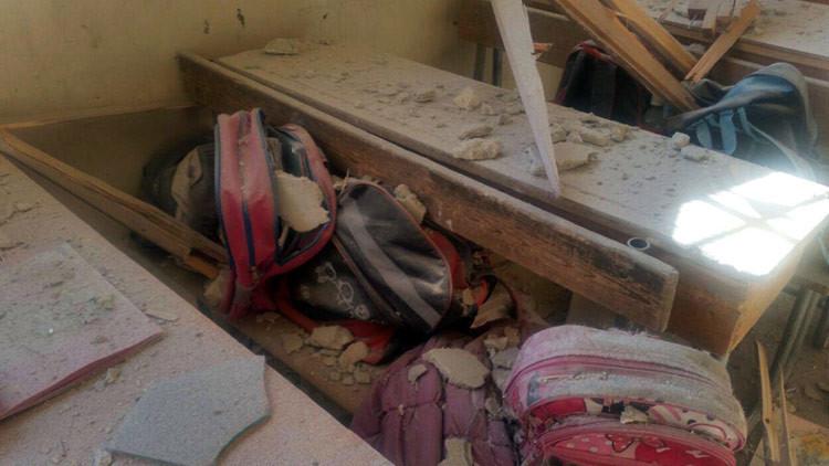 Mueren 2 personas, más de 30 son heridas tras explosiones en una escuela en Alepo