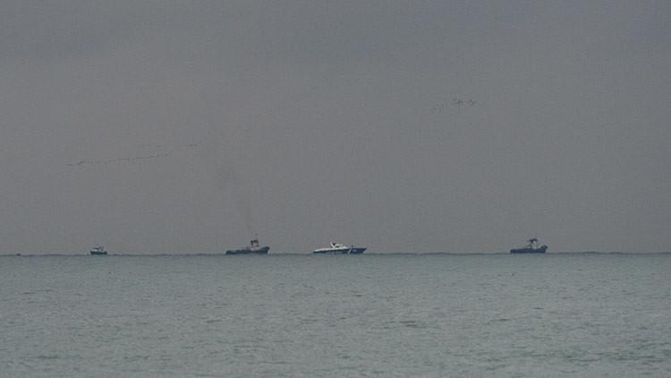PRIMERAS IMÁGENES desde el lugar del siniestro del Tu-154 ruso