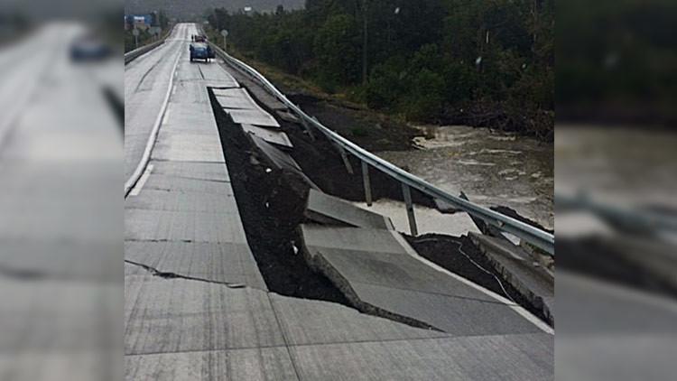Primeras imágenes del terremoto del sur de Chile (VIDEO)