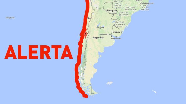 Publican el horario de las olas del posible tsunami en Chile