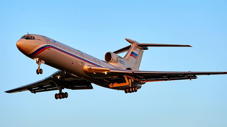 El siniestrado Tu-154 no tenía fallas técnicas antes del vuelo