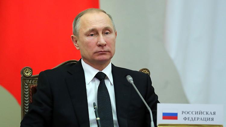"""Putin: """"Los puntos calientes del mundo no disminuyen y los viejos conflictos no se resuelven"""""""