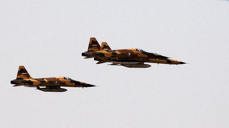 Irán lanza maniobras aéreas a gran escala