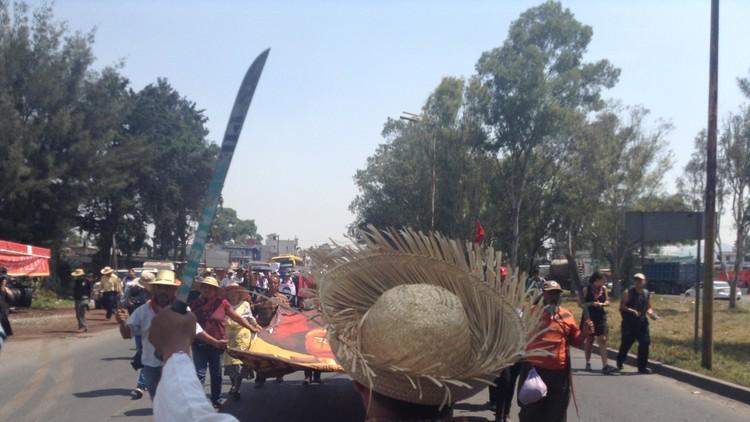 El 'mayor proyecto' del Gobierno mexicano ha dividido y despojado a este pueblo campesino