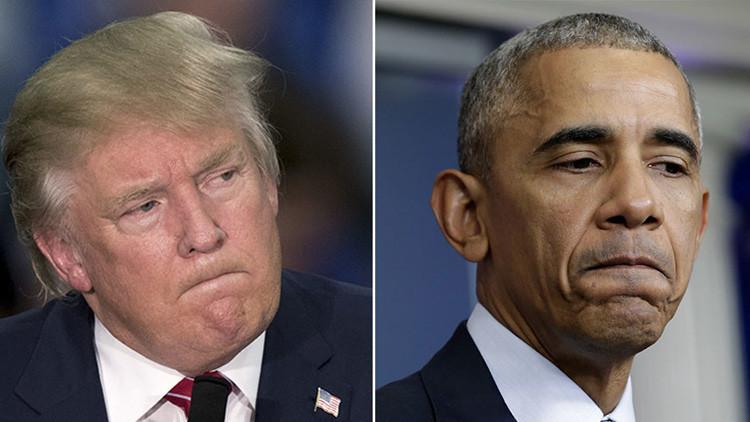 """""""¡De ninguna manera!"""": Trump evalúa las posibilidades de Obama de haberle ganado en las elecciones"""