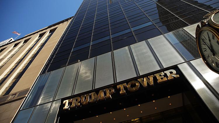 Evacúan la Torre Trump de Nueva York por un paquete sospechoso