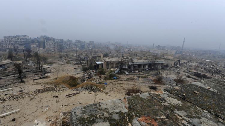 Militares rusos desminan en un día 4 escuelas, 9 mezquitas y una guardería en Alepo