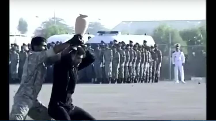 VIDEO: Las fuerzas especiales iraníes hacen el ridículo y desatan las burlas de la Red