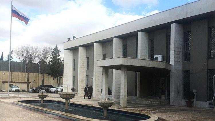 La embajada de Rusia en Siria sufre dos ataques terroristas