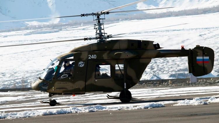 Conozcan el primer helicóptero naval modular ruso Ka-226